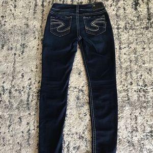 New silver jeans suki skinny 🎀
